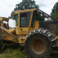 2013 Tigercat 610C Dual Arch Grapple Skidder