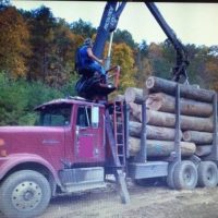 1992 International Eagle Log Truck