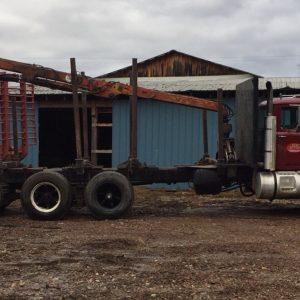 Mack Tri Axle Log Truck w