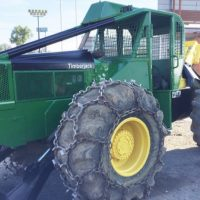 SOLD-Mid 90's Timberjack 240A Cable Skidder