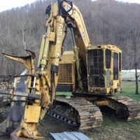 1999 653G John Deere Feller Buncher Call for Price