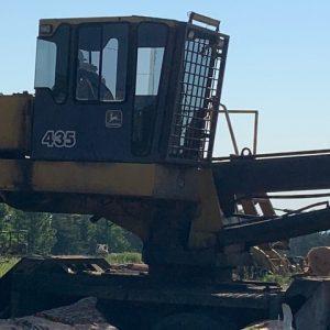 Used John Deere loader