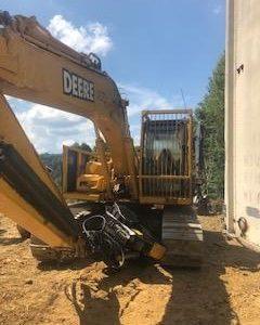 Used John Deere Excavator