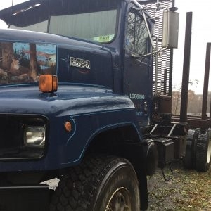 1995 International Paystar 5000 Tri Axle Log Truck
