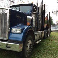 2008 Kenworth W900 Tri Axle Log Truck