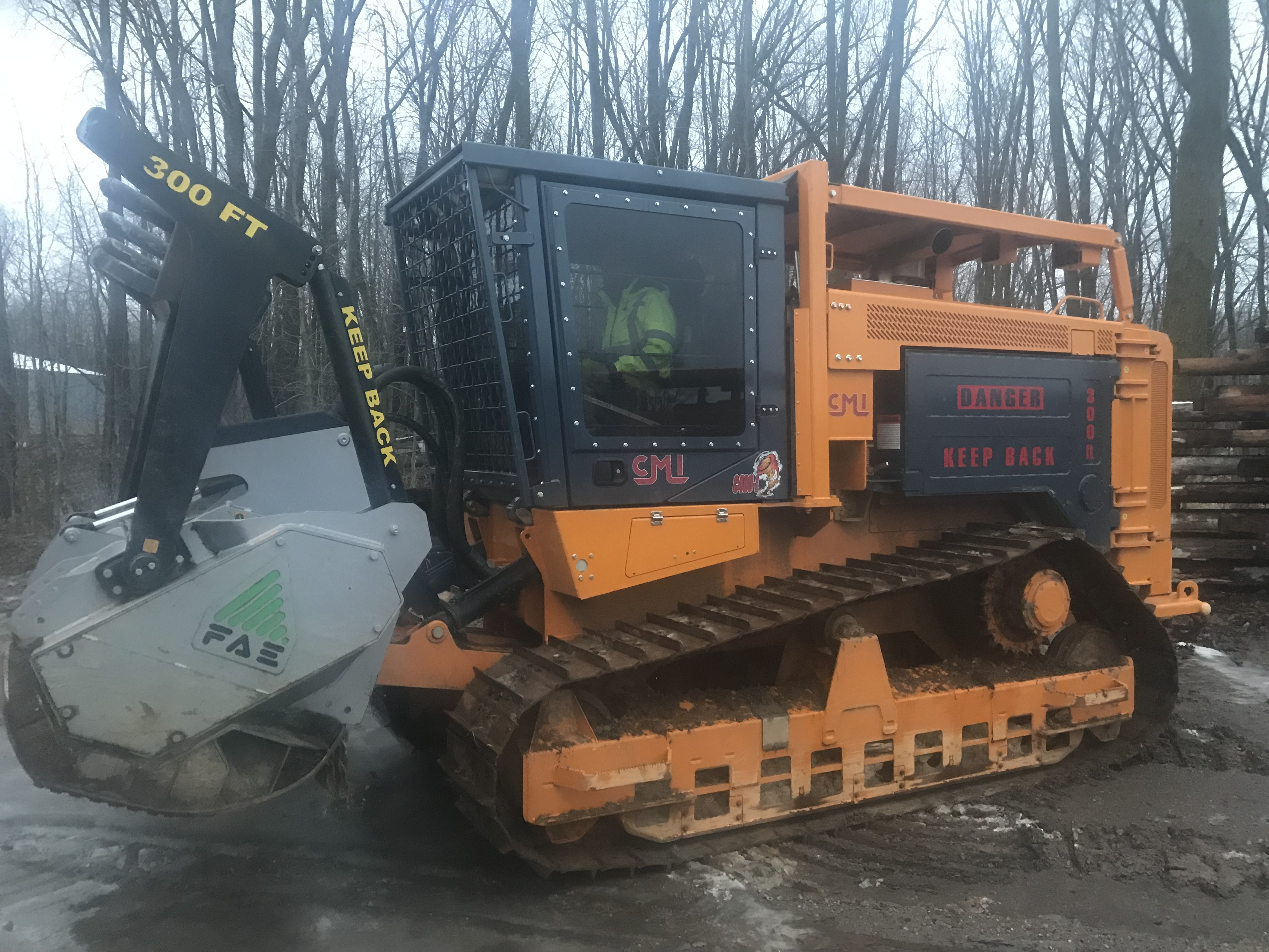 Forestry Mulcher For Sale >> 2018 Cmi C400l Crawler With Fae 300 4 225 Universal Forestry Mulcher
