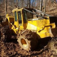 1996 John Deere 648G Grapple Skidder