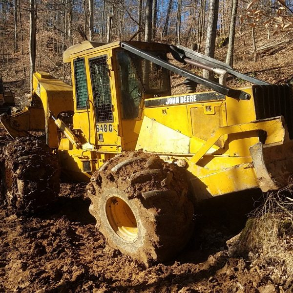 Timberjack Skidder 460d operators manual