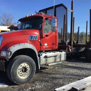 Used Tri Axle Truck