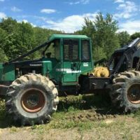 1992 Timberjack 380C Grapple Skidder