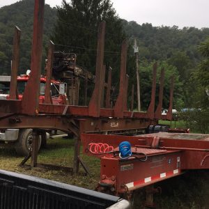 Used Log Trailer For Sale