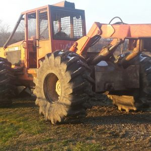 Dual Arch Grapple Skidder