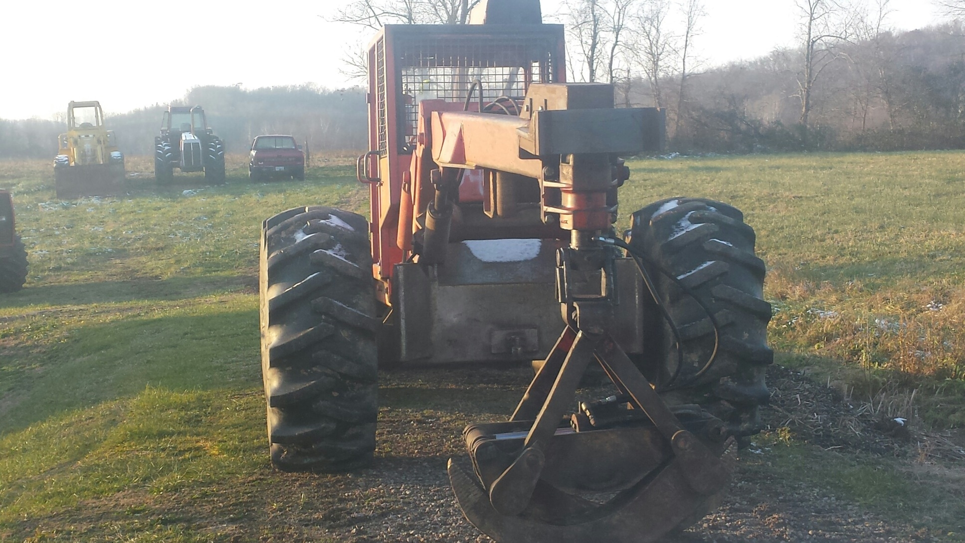 450 Timberjack Dual Arch Grapple Skidder with Winch