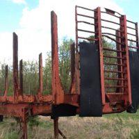 Pitts 42' Log Trailer