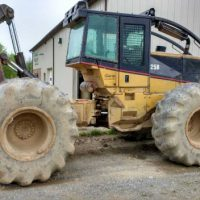 2005 Caterpillar 525B Dual Arch Grapple Skidder