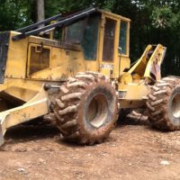 1998 John Deere 640G Cable Skidder sold