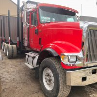 2009 International Tri Axle Log Truck