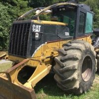 2003 Caterpillar 525B Dual Arch Grapple Skidder