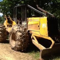 1988 John Deere 640D Cable Skidder sold