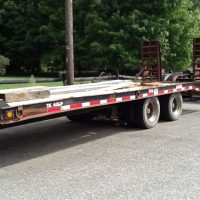 SOLD -1999 Trail King 20 Ton Trailer