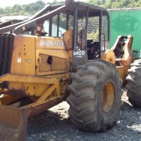 SOLD-1989 John Deere 640D Cable Skidder