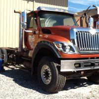 2012 International Tri Axle Truck