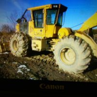 2018 Tigercat 602 Cable Skidder