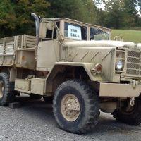 Military 6X6 Truck