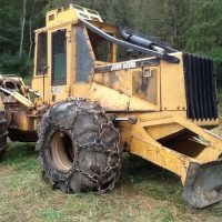 1996 John Deere Single Arch Grapple Skidder $33,000