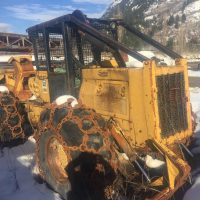 518 Caterpillar Cable Skidder with New Transmission, 90% Tires, Tight Machine, Cat Winch