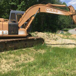 9010B Case Excavator