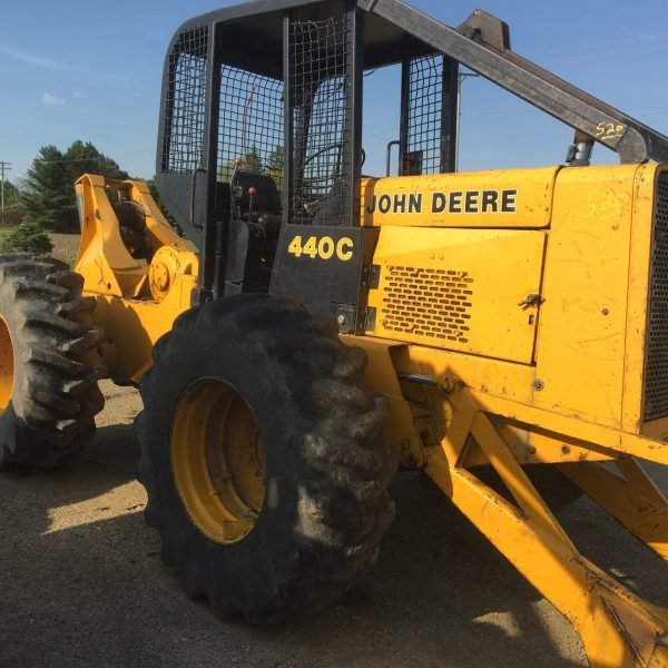 Used JD Cable Skidder
