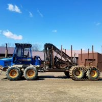 2002 Rottne Forwarder with Chains, Low Hours, $135,000